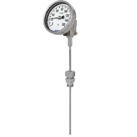 Биметаллический термометр модель 55