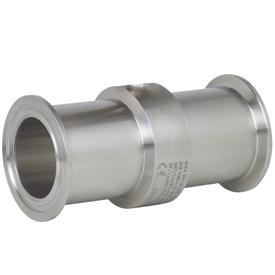 Wika модель 981.511, Трубный мембранный разделитель со стерильным присоединением к процессу в соответствии с DIN 11864