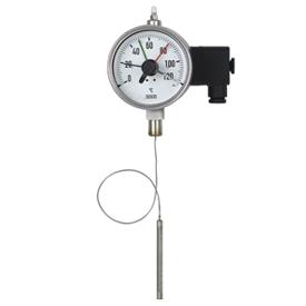 Манометрический термометр с  микропереключателем  Модель М70.55.100