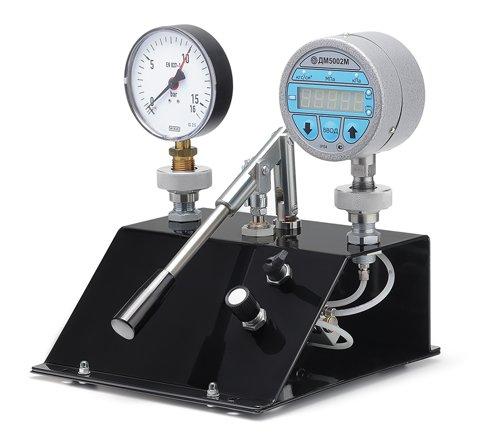 Пневматическая установка для сравнительной калибровки модели ПУСК