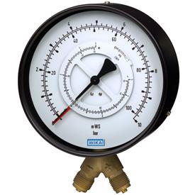 Манометр Wika 711.11 для измерения дифференциального давления