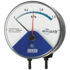 Манометр дифференциального давления Wika A2G-10