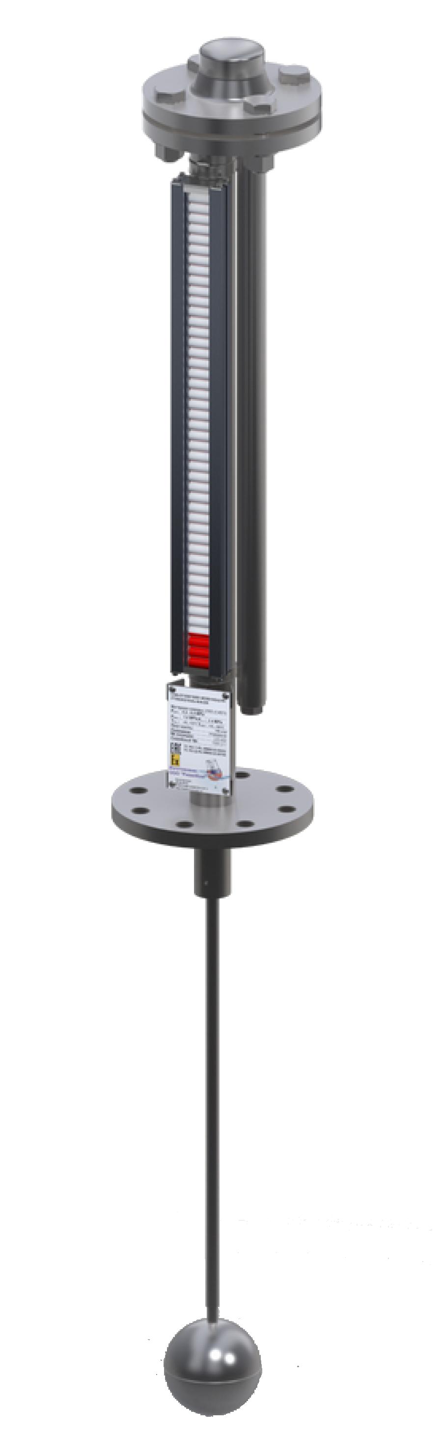 Указатель уровня LGB-OT с системой компенсации веса поплавка DK