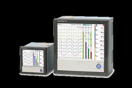 Безбумажные регистраторы GX-GP серии SMARTDAC+