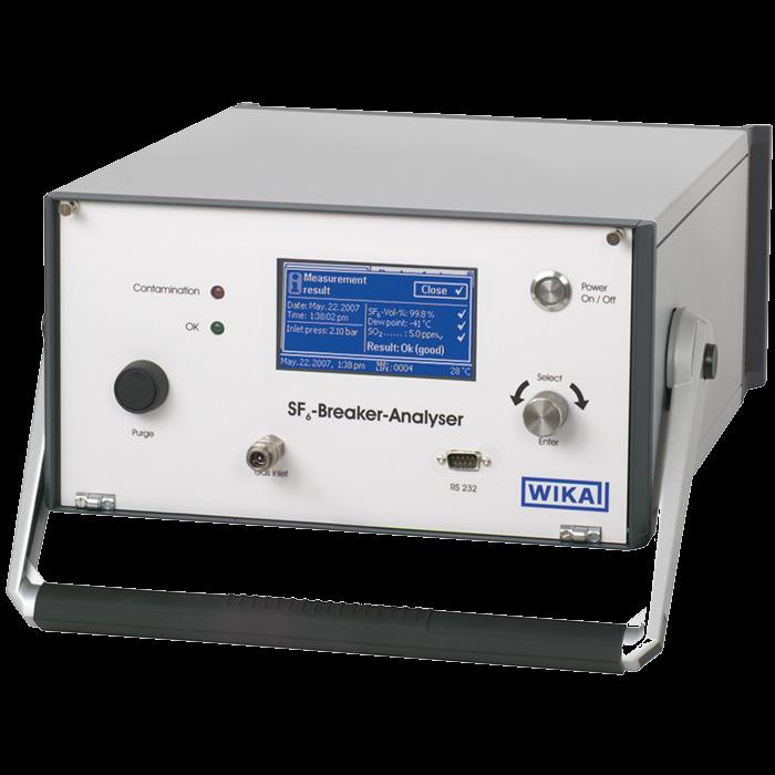 Анализатор для контроля качества элегаза GA10