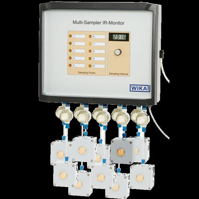 Мультиплексор для мониторинга концентрации элегаза GA33