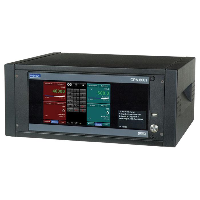 WIKA CPA8001 — калибратор давления высотно-скоростных и аэродинамических параметров авиационных приборов