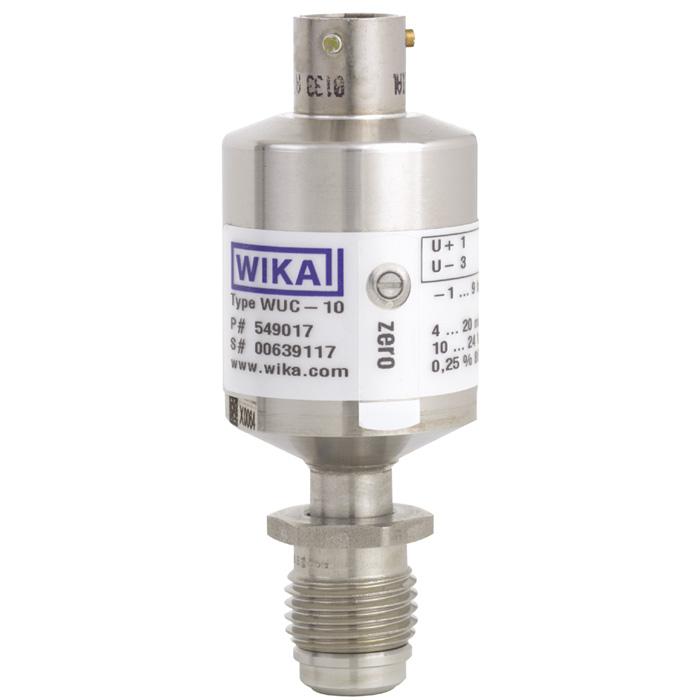 Преобразователь для ультра чистых сред WUC-10, WUC-15, WUC-16