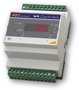MDS AO-2UI Модули вывода сигналов тока и напряжения