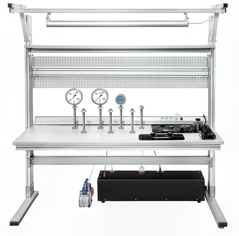 Метрологические стенды с автоматизированным созданием давления