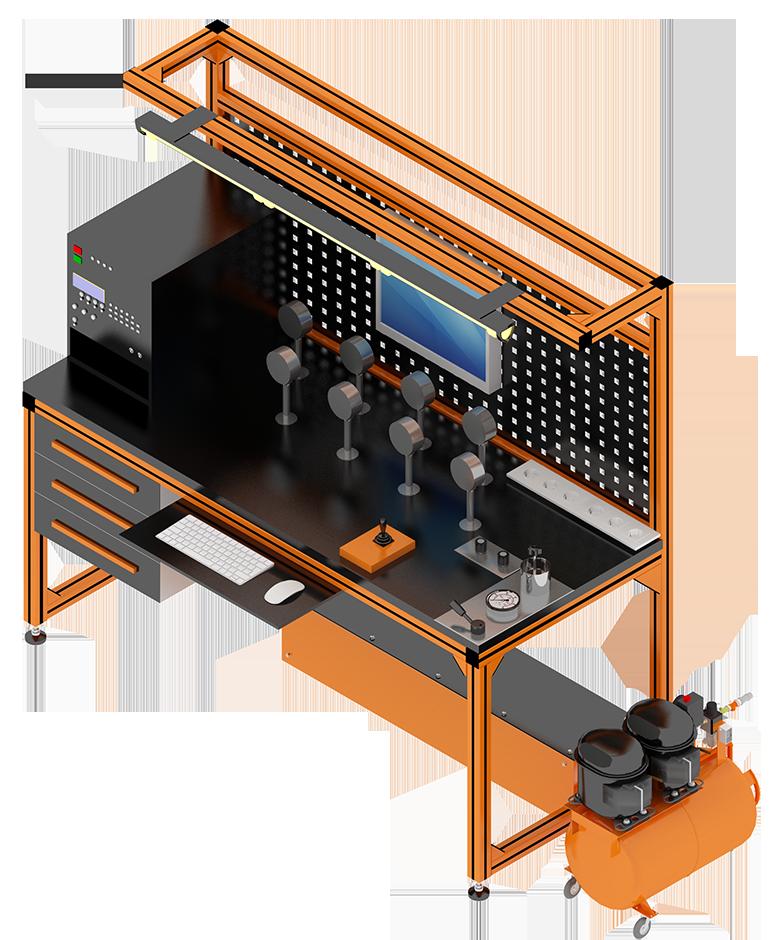 Метрологические стенды Альфапаскаль с автоматизированным созданием давления