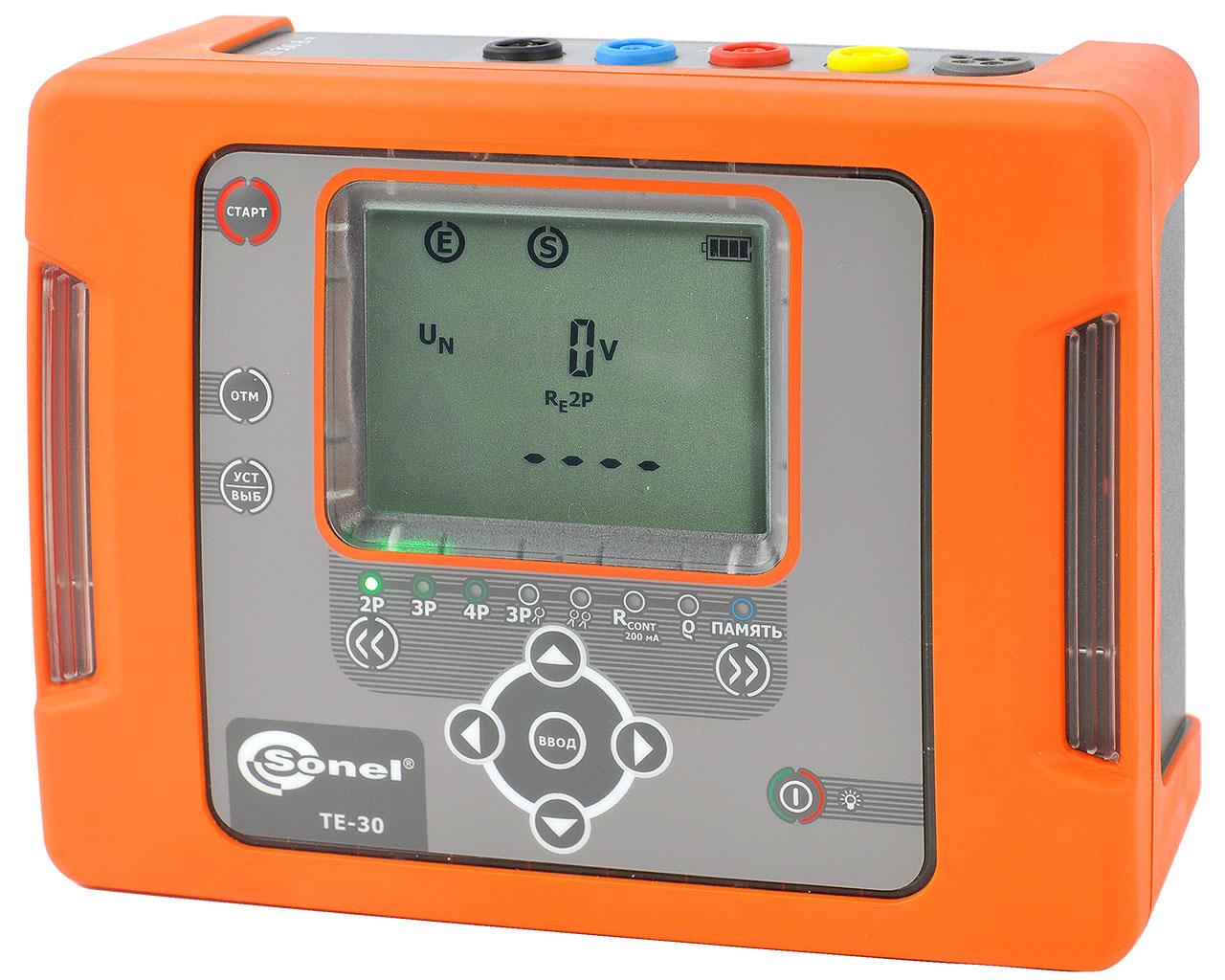 TE-30 Измеритель параметров заземляющих устройств