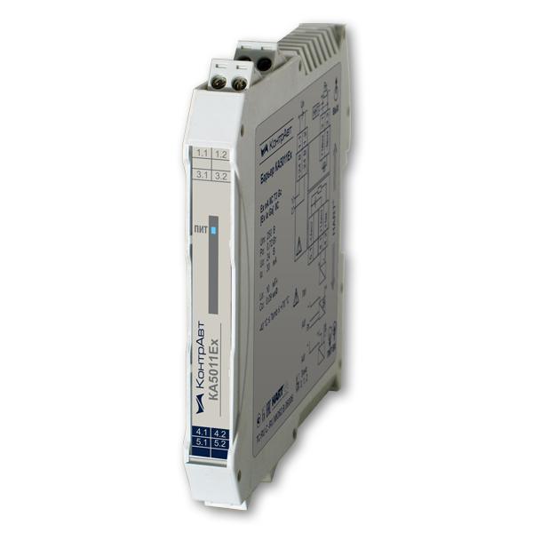 КА5011Ех барьеры искробезопасности активные, одноканальные приёмники сигнала (4…20) мА от пассивных или активных источников, HART