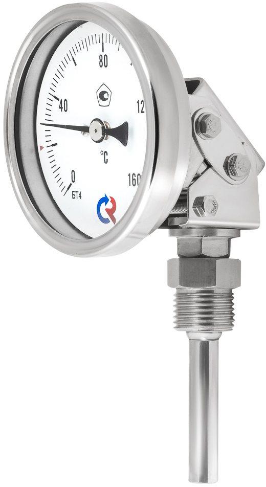 Термометры коррозионностойкие (универсальное присоединение), модели БТ-44.220, БТ-54.220, БТ-74.220