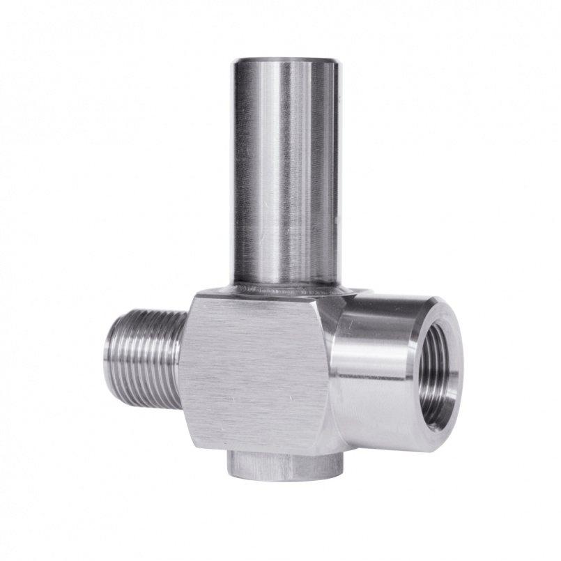 Предохранительный клапан для манометров и датчиков давления ПК-М