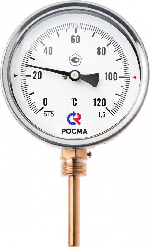 Термометры общетехнические (радиальное присоединение), модель БТ-32.211