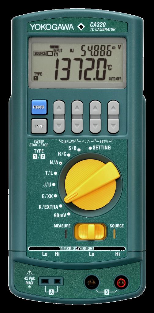 Калибратор сигналов термопар CA320