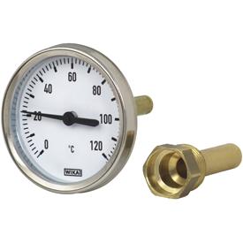 Биметаллический термометр WIKA модель 50