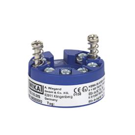 Вторичный преобразователь температуры для шин FOUNDATION™ Fieldbus и PROFIBUS® PA , монтаж в соединительную головку термометра, модель Т53.10