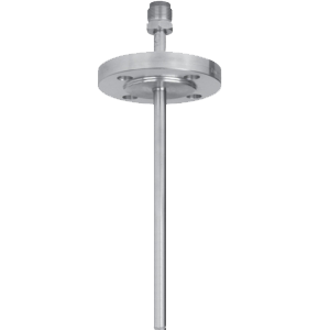 Гильза защитная составная, с фланцем. Модель TW40-D, с танталовым покрытием. Модель TW40-E, смачиваемые части из специальных материалов