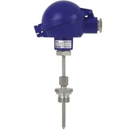 Термопреобразователи сопротивления. Модель TR55, с подпружиненным сенсором.