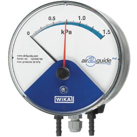 Манометр WIKA A2G-15 дифференциального давления с электрическим выходным сигналом