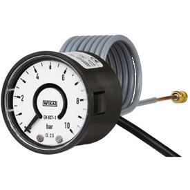 Манометры WIKA PGT02 с трубкой Бурдона и электрическим выходным сигналом