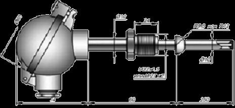 Термоэлектрические преобразователи 01.10С;  тип КТХА, КТНН, КТХК