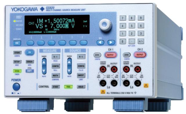Программируемый источник постоянного тока и напряжения  GS820