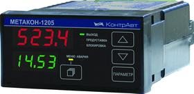 МЕТАКОН-1205 измеритель-регулятор, нормирующий преобразователь, щитовой монтаж, RS-485
