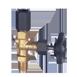 Игольчатый вентиль для манометра DIN 16270