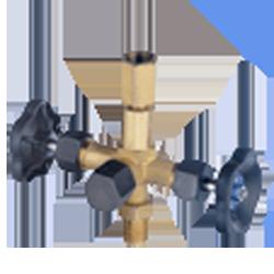 Игольчатый вентиль для манометра DIN 16272