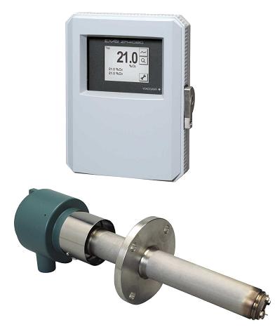 Анализатор концентрации кислорода в газах  ZR