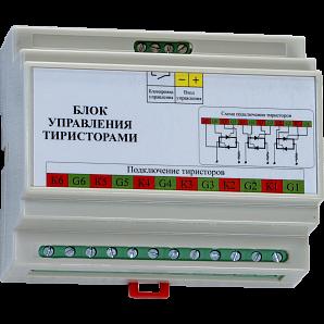 Блок управления БУТ1-В01, 1 фаза, управление тиристорами
