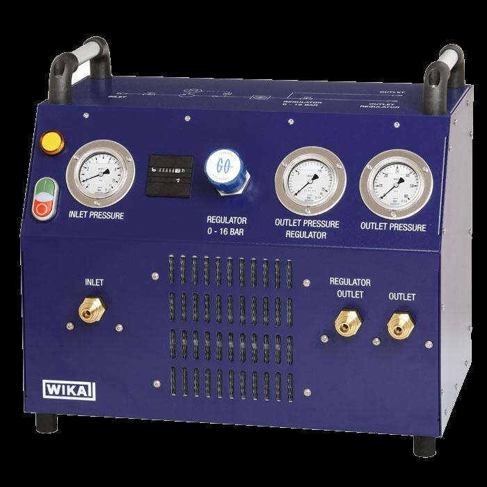 Мобильный компрессорный модуль элегаза GTU-10