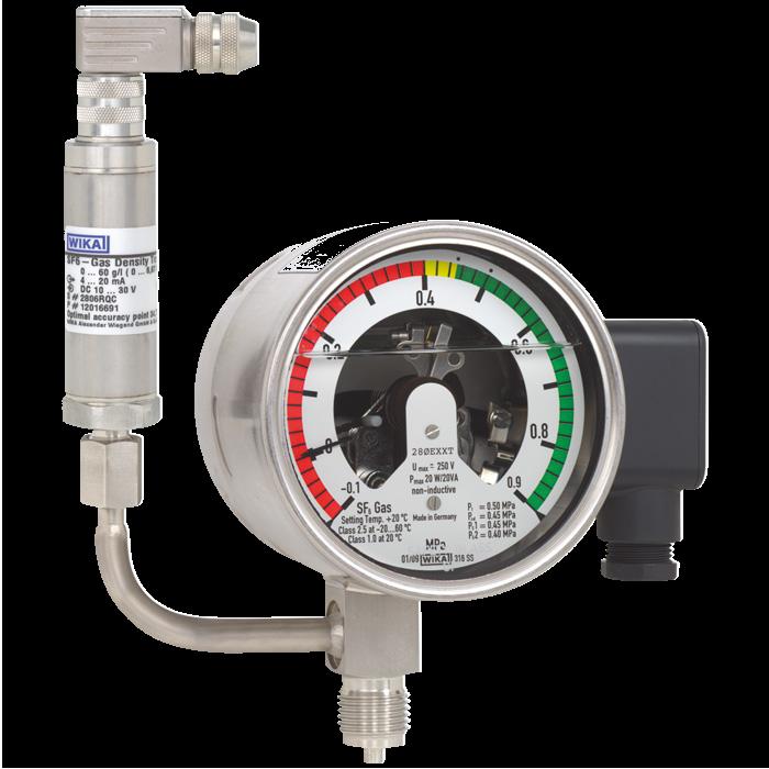 Монитор плотности элегаза GDM 233.52.100 TA