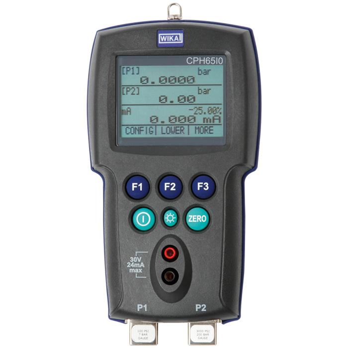 WIKA CPH65I0 — искробезопасный калибратор давления