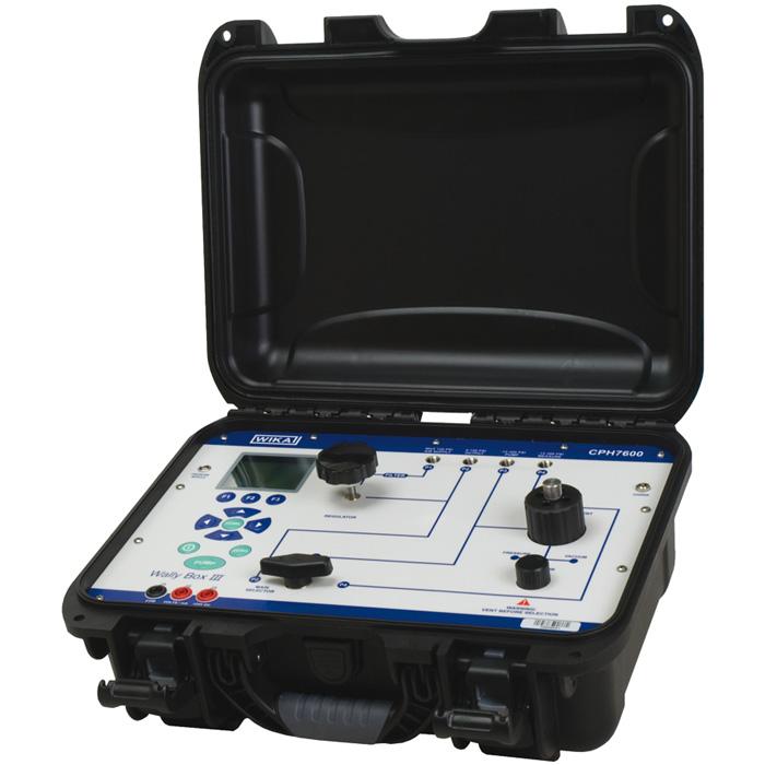 WIKA CPH7600 — портативный калибратор