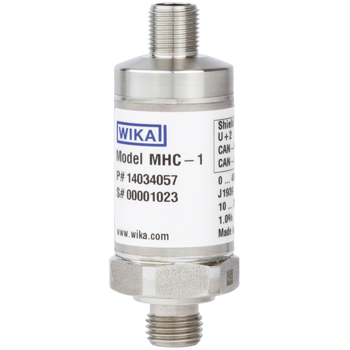 Преобразователь давления с выходным сигналом CANopen® и J1939 MHC-1