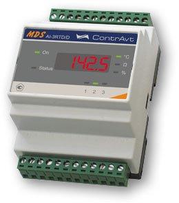 MDS AI-3RTD Модули ввода сигналов термосопротивлений и потенциометров