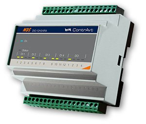 MDS DIO-12H3/4RA Модули ввода-вывода дискретных сигналов высоковольтные