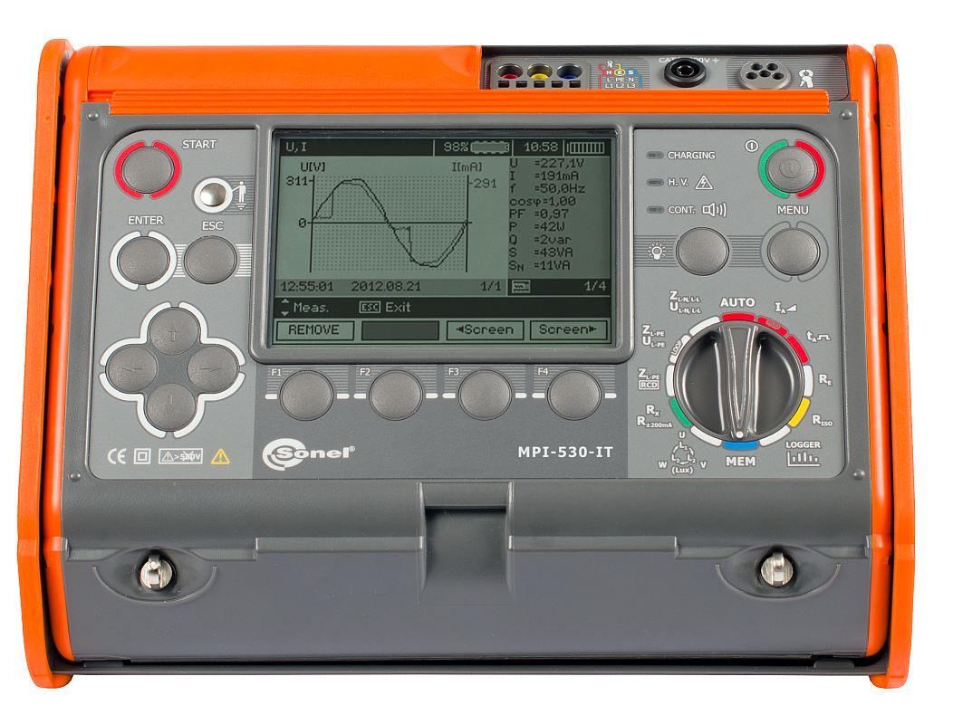 MPI-530-IT Измеритель параметров электробезопасности электроустановок