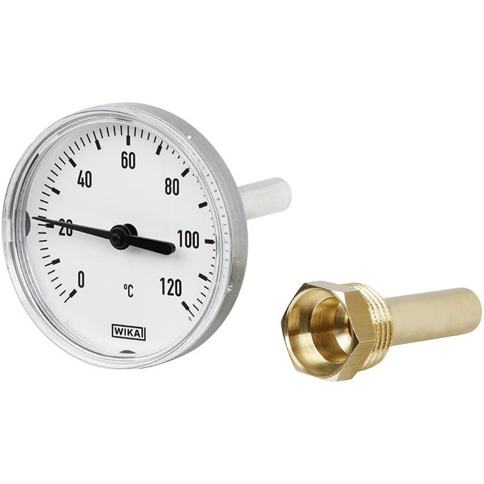 Термометр биметаллический A43