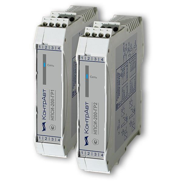 НПСИ-200-ГР1/ГР2 модули гальванической развязки токового сигнала (4…20) мА