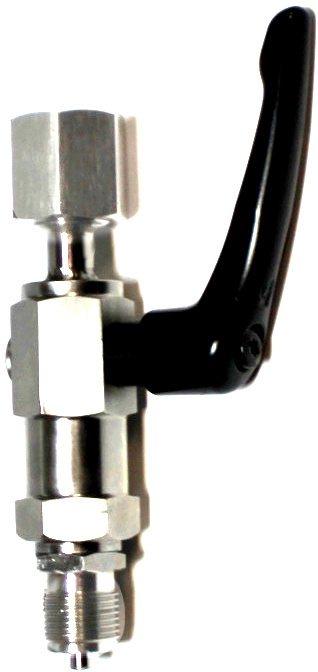 Игольчатый клапан из нержавеющей стали на 100 МПа