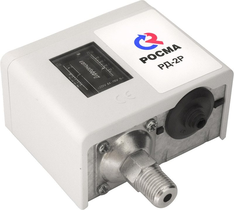 РД-2Р Реле давления для жидких и газообразных неагрессивных сред, модели РД-2Р, РД-2Р модель 35