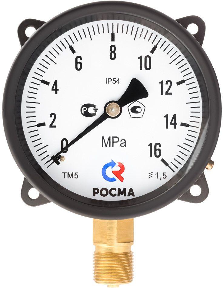Манометры специального исполнения IP54, модели ТМ-510 IP54, ТМ-610 IP54, ТВ-510 IP54, ТВ-610 IP54, ТМВ-510 IP54, ТМВ-610 IP54