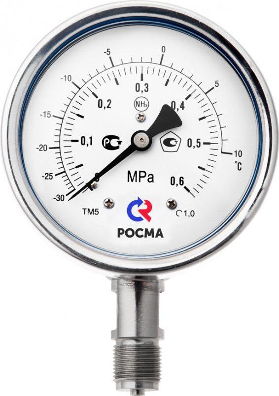 Манометры для измерения низких давлений газов, модели КМ-11, КМ-12, КМ-22, КМ-31, КМВ-22