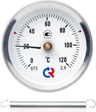 Термометры биметаллические специальные (с пружиной), модель  БТ-30.010
