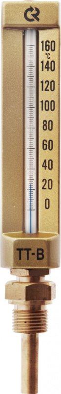 Термометры жидкостные виброустойчивые, модель  ТТ-В